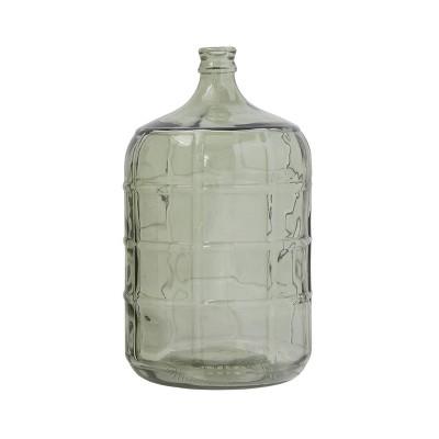 """19.5"""" x 11"""" Vintage Reproduction Glass Bottle Clear - 3R Studios"""