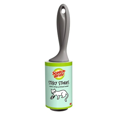 Scotch-Brite Printed Lint Roller - 60 Sheets