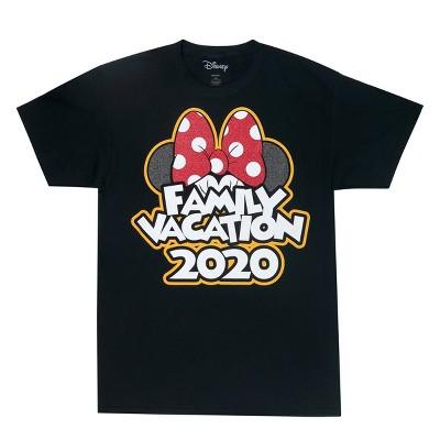 "Women's Minnie ""Family Vacation 2020"" T-Shirt (Plus Size) - Disney ™ - Black"