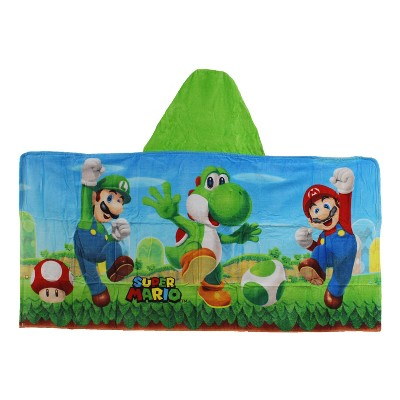 Super Mario Yoshi Hooded Towel
