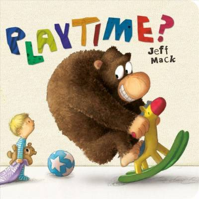 Playtime? - by Jeff Mack (Board Book)