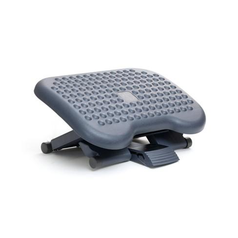 Adjustable Height & Tilt Foot Rest Gray - Mind Reader - image 1 of 4