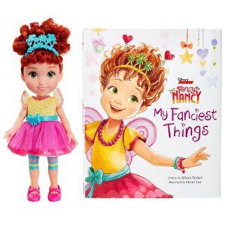 Disney Fancy Nancy Doll and Book Set