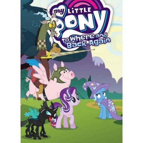 My Little Pony: To Where and Back Again - (Mlp Episode Adaptations) by  Josh Haber (Paperback) - image 1 of 1