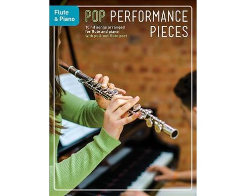 Pop Performance Pieces Flute & Piano (Paperback) - image 1 of 1