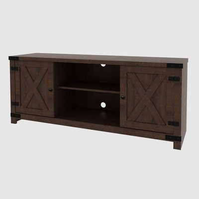 Claret Media Console Table Brown - RST Brands