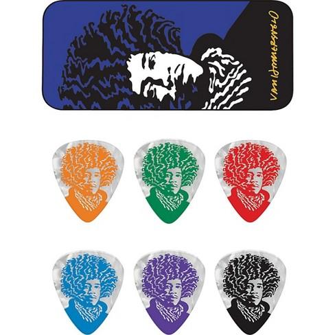Dunlop John VanHanersvelt Jimi Pick Tin with 6 Picks - image 1 of 1