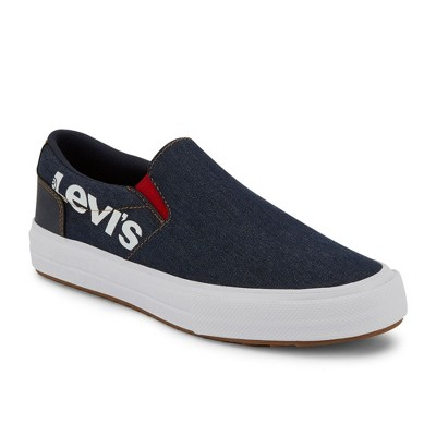 Levi's Mens Jeffrey V Slip Anti Denim Fashion Sneaker Shoe