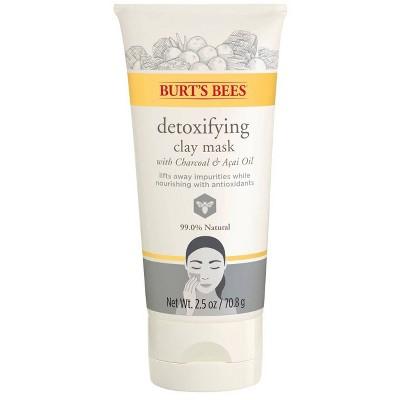 Burt's Bees Detoxifying Clay Face Mask - 2.5oz