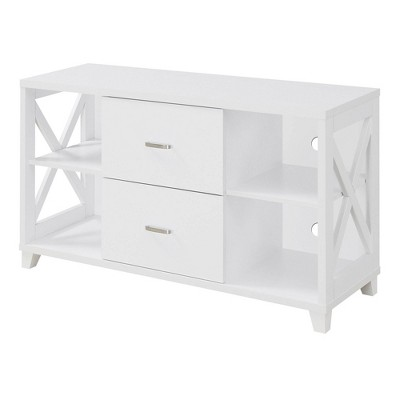 "52"" Oxford Deluxe TV Stand with 2 Drawers - Johar Furniture"