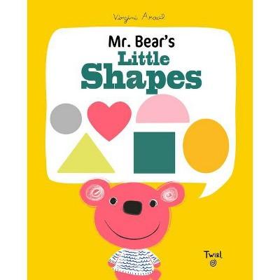 Mr. Bear's Little Shapes - (Board Book)