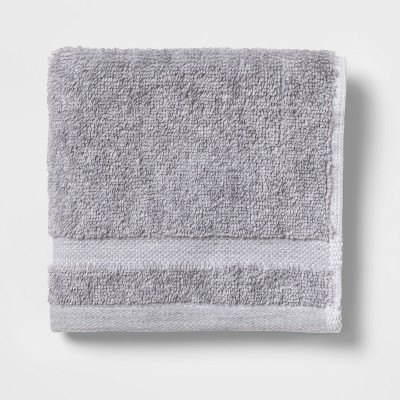 Solid Washcloth Gray - Made By Design™