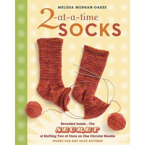 2-At-A-Time Socks - by  Melissa Morgan-Oakes (Spiral_bound) - image 1 of 1
