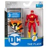 """DC Comics The Flash 4"""" Action Figure with 3 Mystery Accessories, Adventure 2 - image 2 of 3"""