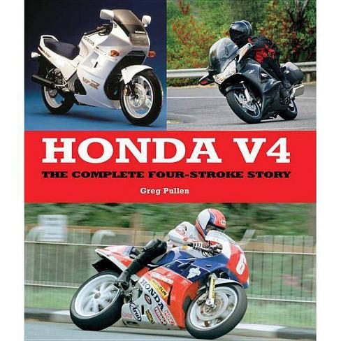 Honda V4 - by  Greg Pullen (Hardcover) - image 1 of 1