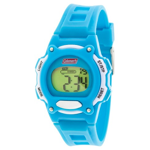 Kid's Coleman® Digital Strap Watch - Turquoise - image 1 of 1