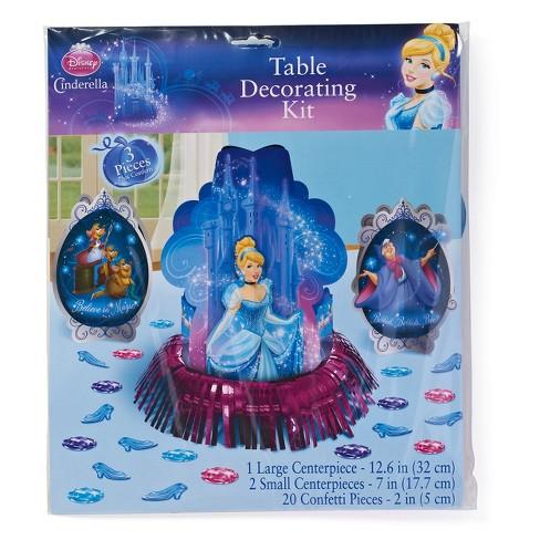 Cinderella Table Decoration Kit Target