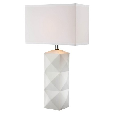 Lite Source Robena 1 Light Table Lamp - White