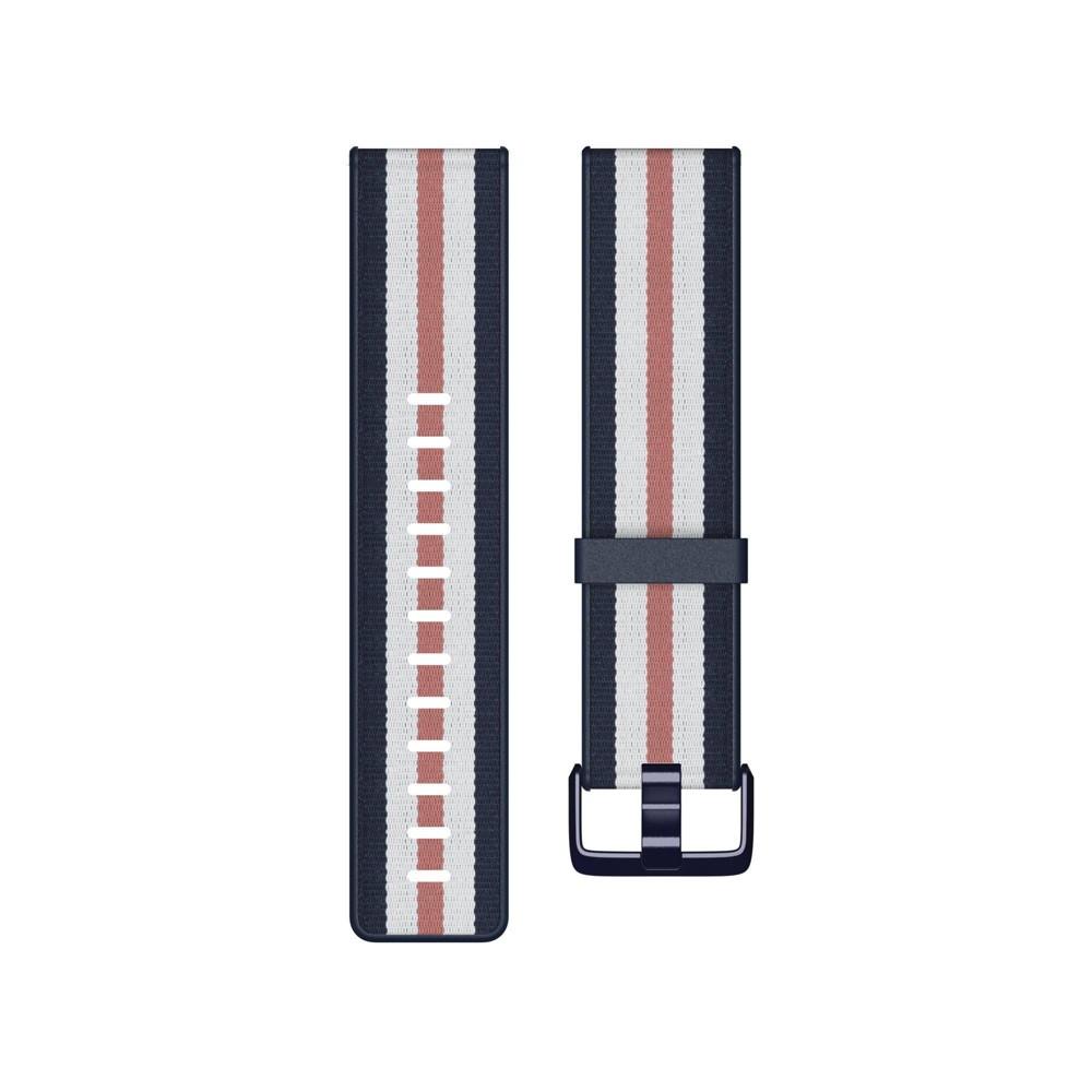 Fitbit Versa Lite Smartwatch Large Woven Band Navy