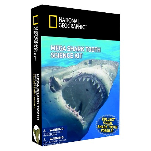 National Geographic™ Mega Shark Tooth Science Kit - image 1 of 1
