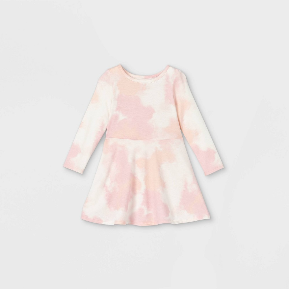Toddler Girls 39 Knit Long Sleeve Dress Cat 38 Jack 8482 Coral 5t