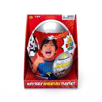 Ryan's World Mystery Adventure Playset Egg