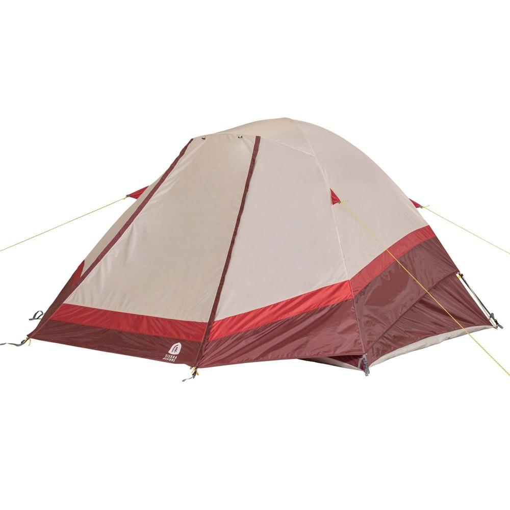 Sierra Designs Deer Ridge 6 Person Dome Tent Red