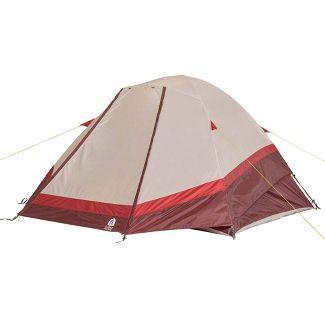 Sierra Designs Deer Ridge 6 Person Dome Tent - Red