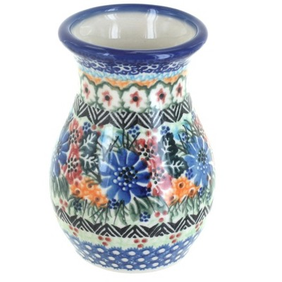 Blue Rose Polish Pottery Ashley Vase