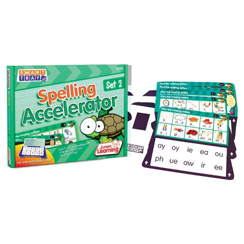 Junior Learning® Smart Tray Spelling Accelerator Set 2 - image 1 of 1