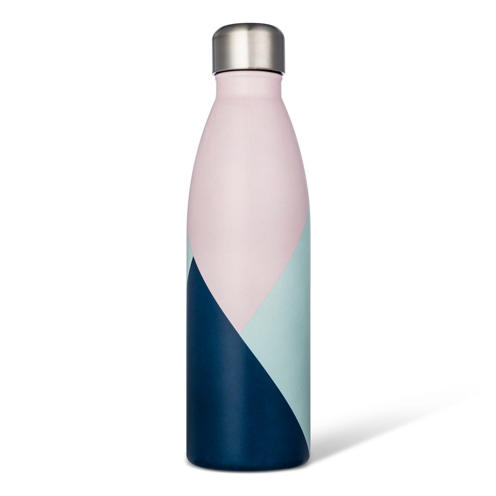 17.5oz Stainless Steel Tumbler - Color Block, Multi-Colored