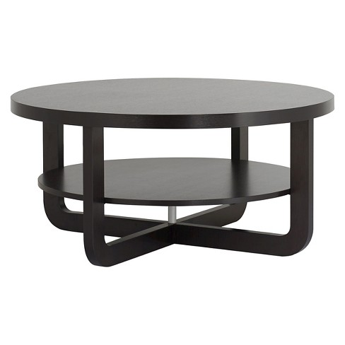 Ton Modern Interlocking Base Round Coffee Table Cuccino Homes Inside Out