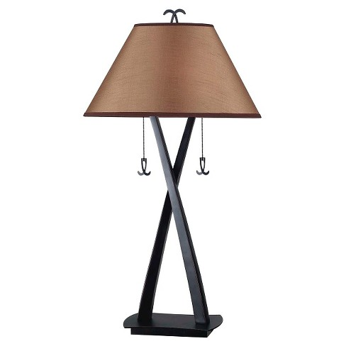 Kenroy Wright Table Lamp - Bronze Finish - image 1 of 2