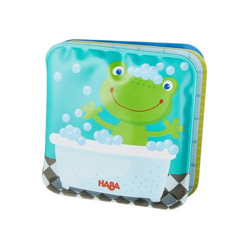 HABA Mini Bathtime Book Fritz The Frog with Rattling Effect - Great for Bathtime or Wading Pool - image 1 of 3
