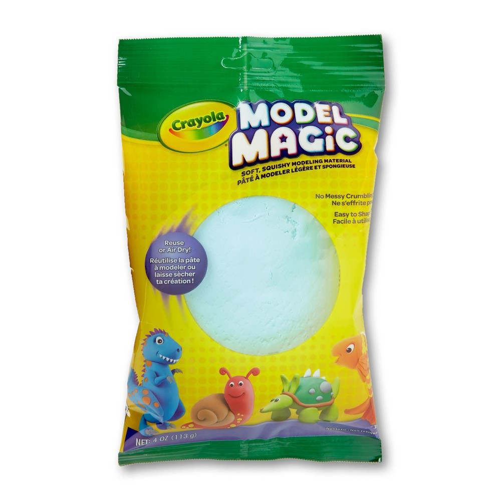 Image of Crayola Model Magic 4oz Single Pack - Aquamarine