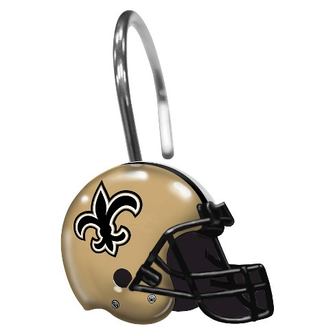 Northwest New Orleans Saints Shower Curtain Rings Target