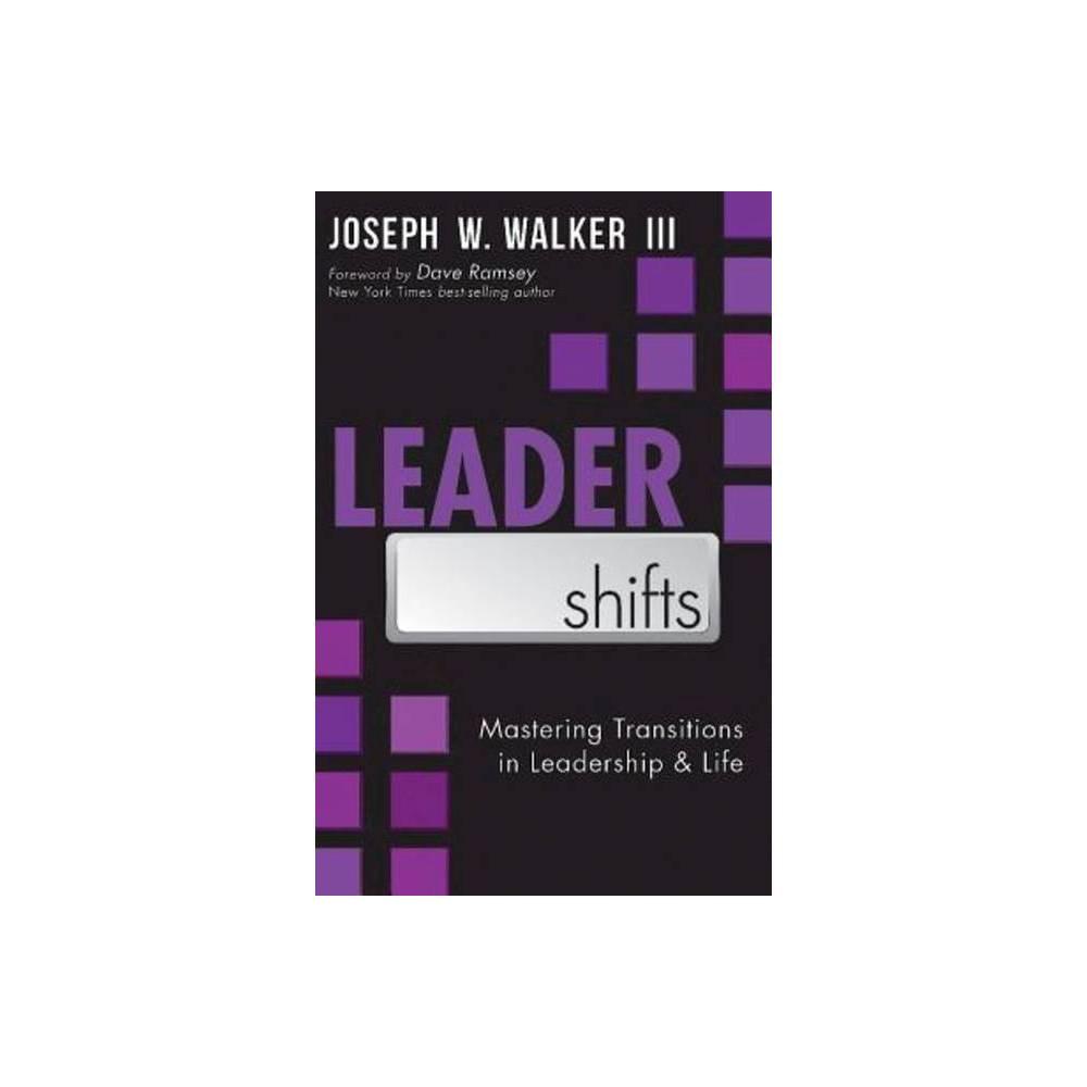 Leadershifts By Joseph W Walker Iii Paperback