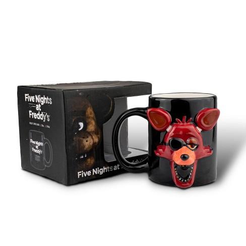 Just Funky Five Nights At Freddy Foxy Relief Coffee Mug   Foxy 3D Ceramic Mug   20 Ounces - image 1 of 4