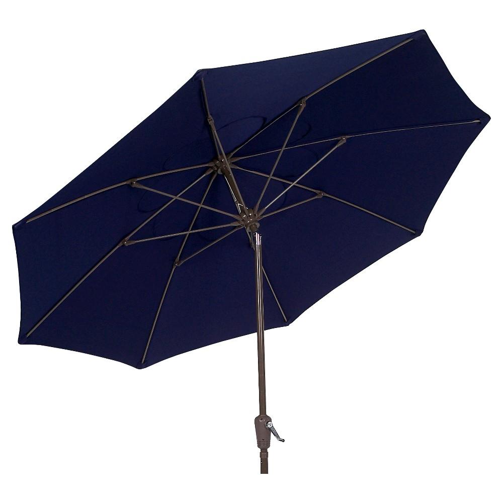 Image of FiberBuilt 7.5' Patio Umbrella FiberBuilt Navy Blue
