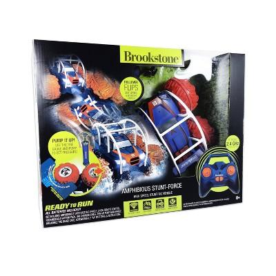 Brookstone RC Amphibious Stunt Force