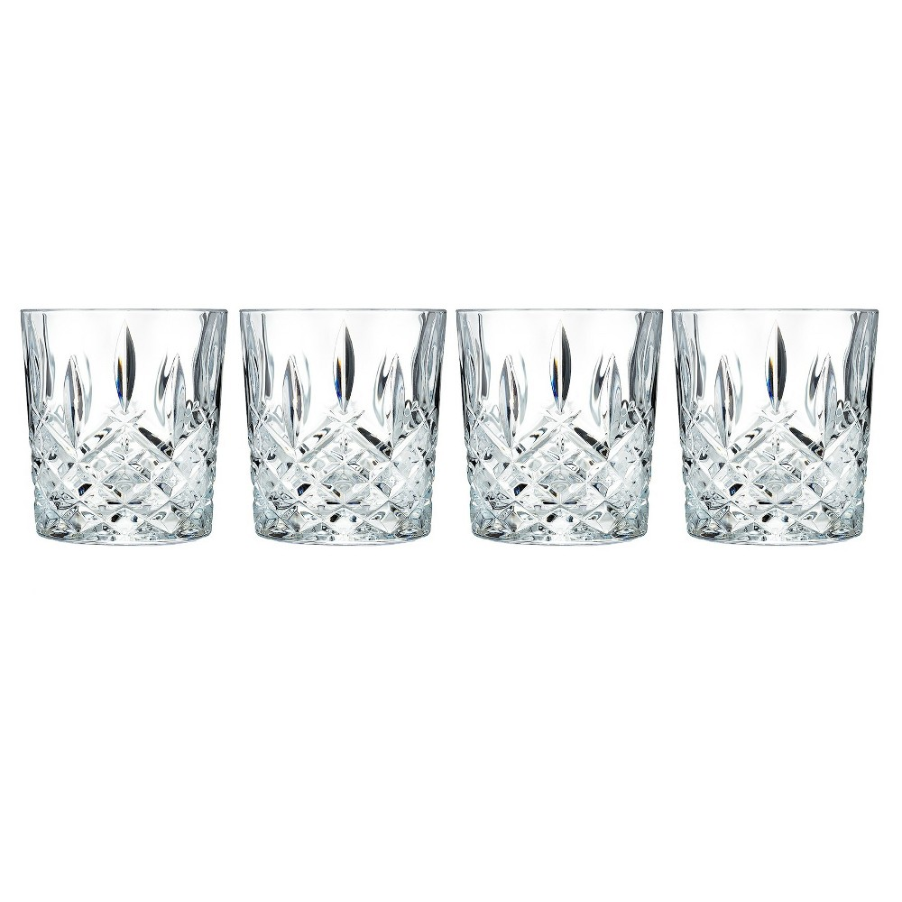 Image of Marquis by Waterford Markham Crystal Double Old-Fashioned Glass 11oz - Set of 4