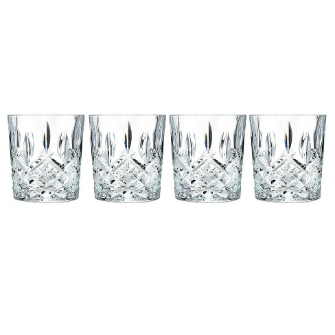 497536e4f13 Marquis by Waterford Markham Crystal Double Old-Fashioned Glass 11oz - Set  of 4