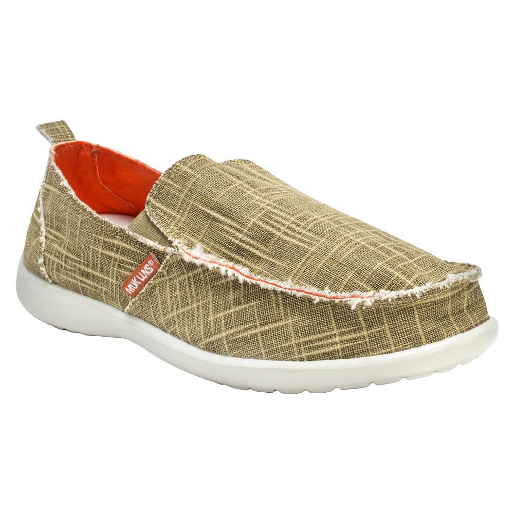 Men's Muk Luks Andy Sneakers - Taupe (Brown) 11