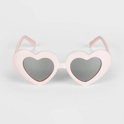 Girls' Heart Sunglasses - Cat & Jack™ Pink