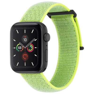 Case-Mate Nylon Apple Watch Strap - Neon Green 42-44mm