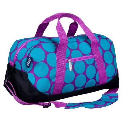 WildKin Big Dot Duffel Bag - Aqua