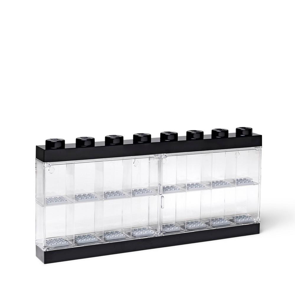 Lego Minifigure Display Case - Black
