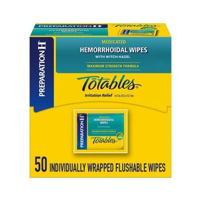 Preparation H Hemorrhoid Dispensor Totables - 50ct