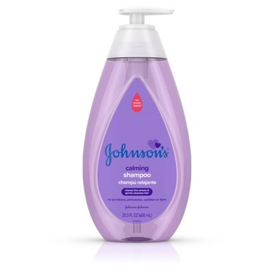 Johnson's Calming Shampoo - 20.3oz