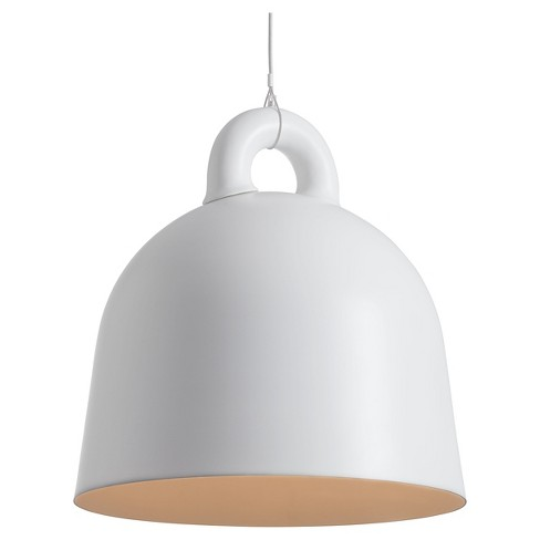 "Modern 24"" White Ceiling Lamp - ZM Home - image 1 of 2"